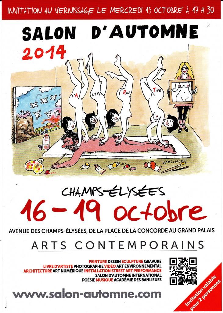 Salon d automne 2014 avenue des champs elys es du 16 au 19 for Salon de coiffure afro champs elysees
